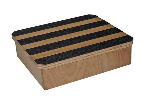 Foot Stool Wood Work Harden 13 Quot X14 Quot X4 Quot Riversedge Products