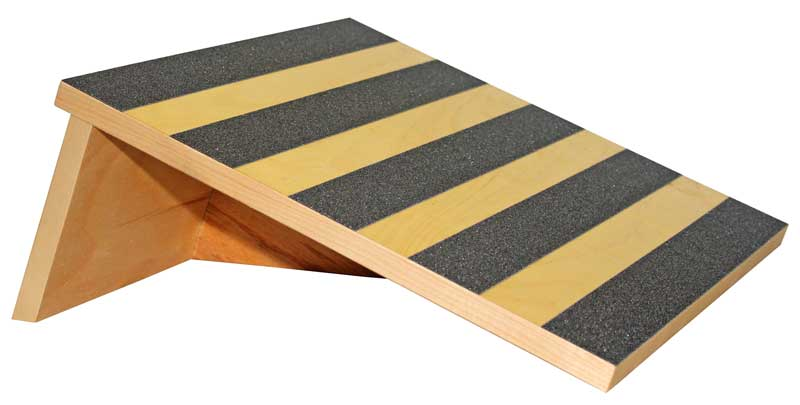 Slant Board 15 Degree Birch Wood With Safety Treads