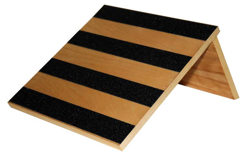 Slant Board 30 Degree Birch Wood With Safety Treads