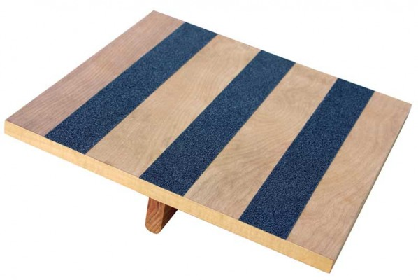 Balance Rocker Board 14 Quot X 15 Quot Wood With Traction Strips