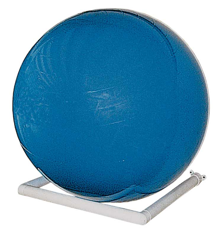 Stability Ball Wall Rack: Storage Racks (2), Exercise Therapy Ball, Wall-mount