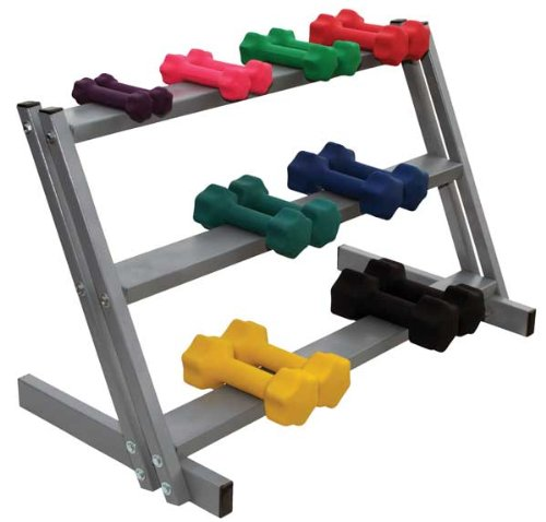 Economy Wall Rack for Foam Rollers 2 Pack - RiversEdge Products