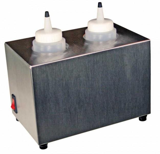 Electric Bottle Warmer ~ Bottle warmer holds oz bottles polished stainless